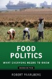 Food Politics 2nd 2013 9780199322381 Front Cover