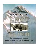 Last Climb The Legendary Everest Expeditions of George Mallory 1999 9780792275381 Front Cover