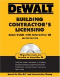 Building Contractor's Licensing Based on the Ibc and Construction Theory 2nd 2008 9780979740381 Front Cover