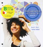 Psychology in Everyday Life: 2014 9781464109386 Front Cover