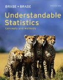 Understandable Statistics Concepts and Methods 10th 2011 9780840048387 Front Cover