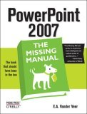PowerPoint 2007 2007 9780596527389 Front Cover