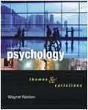 Featured Studies Rdr-Psychology Themes and Variations 1st 2006 9780495170396 Front Cover
