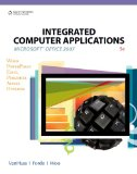 Integrated Computer Applications 5th 2008 Revised 9780538730396 Front Cover