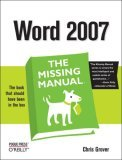 Word 2007 2006 9780596527396 Front Cover