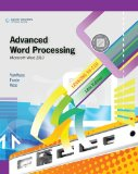 Advanced Word Processing Microsoft Word 2010 18th 2010 9780538495400 Front Cover