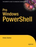 Pro Windows PowerShell 2008 9781590599402 Front Cover