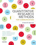 Quantitative Research Methods for Communication A Hands-On Approach 3rd 2015 9780190456405 Front Cover