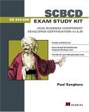 SCBCD Exam Study Kit Java Business Component Developer Certification for EJB 2005 9781932394405 Front Cover