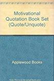 Motivational Quotation Book Set-Fahrney 2013 9781557090409 Front Cover