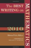 Best Writing on Mathematics 2010 1st 2011 9780691148410 Front Cover