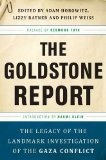 Goldstone Report The Legacy of the Landmark Investigation of the Gaza Conflict 2011 9781568586410 Front Cover