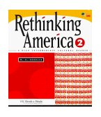Rethinking America 2 A High Intermediate Cultural Reader 1999 9780838447413 Front Cover