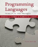Programming Languages Principles and Practices 3rd 2011 Revised 9781111529413 Front Cover