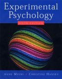 Experimental Psychology 6th 2005 9780534634414 Front Cover