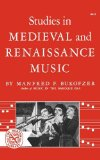 Studies in Medieval and Renaissance Music 1964 9780393002416 Front Cover