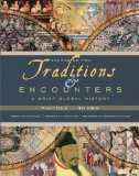 Traditions and Encounters A Brief Global History 2nd 2009 Brief Edition 9780077286422 Front Cover