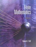 Finite Mathematics 7th 2007 9780495118428 Front Cover