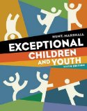 Exceptional Children and Youth 5th 2012 9781111833428 Front Cover