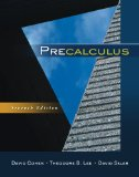 Precalculus 7th 2011 9780840069429 Front Cover