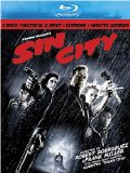 Case art for Sin City (Two-Disc Theatrical & Recut, Extended, and Unrated Versions) [Blu-ray]