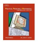 Practical Problems in Mathematics for Drafting and CAD 3rd 2004 Revised 9781401843441 Front Cover