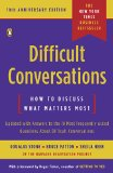 Difficult Conversations How to Discuss What Matters Most 10th 2010 Revised  9780143118442 Front Cover
