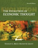 Evolution of Economic Thought 7th 2006 9780324321456 Front Cover