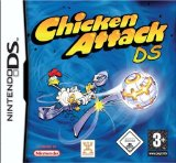 Case art for Chicken Attack (Nintendo DS) by Intenium