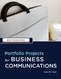 New Perspectives Portfolio Projects for Business Communication 1st 2009 9781439037461 Front Cover