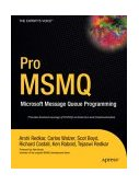 Pro MSMQ Microsoft Message Queue Programming 2004 9781590593462 Front Cover