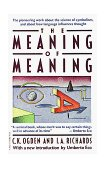 Meaning of Meaning 1989 9780156584463 Front Cover