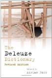 Deleuze Dictionary  cover art