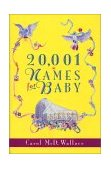 20,001 Names for Baby 1995 9780380780471 Front Cover