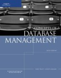 Concepts of Database Management 6th 2007 Revised  9781423901471 Front Cover