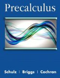Precalculus 2013 9780321871473 Front Cover