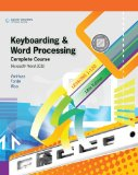 Keyboarding and Word Processing, Complete Course, Lessons 1-120: Microsoft Word 2010 College Keyboarding 18th 2010 9780538496476 Front Cover