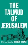 Talmud of Jerusalem 1956 9780806529479 Front Cover