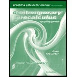 Contemporary Precalculus A Graphing Approach 3rd 2000 9780030260483 Front Cover