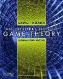 Introduction to Game Theory 1st 2009 9780195322484 Front Cover