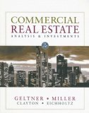 Commercial Real Estate Analysis and Investments 2nd 2006 9780324305487 Front Cover