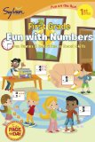 First Grade Fun with Numbers (Sylvan Fun on the Run Series) 2012 9780307479488 Front Cover