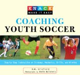 Coaching Youth Soccer Step-by-Step Instruction on Strategy, Mechanics, Drills, and Winning 2009 9781599215488 Front Cover