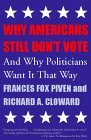 Why Americans Still Don't Vote And Why Politicians Want It That Way 2000 9780807004494 Front Cover