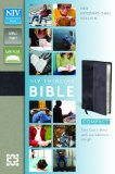 NIV Thinline Bible 2011 9780310435495 Front Cover