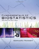 Fundamentals of Biostatistics 7th 2010 9780538733496 Front Cover