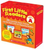 First Little Readers Parent Pack: Guided Reading Level A 25 Irresistible Books That Are Just the Right Level for Beginning Readers 2010 9780545231497 Front Cover