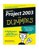 Microsoft Project 2003 for Dummies 1st 2003 Revised  9780764542497 Front Cover