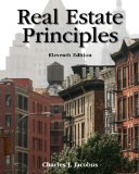Real Estate Principles 11th 2009 9780324787498 Front Cover