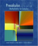 Precalculus 5th 2008 9780495557500 Front Cover